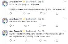 Man Enjoys Surreal VIP Experience As Only Passenger On International Flight